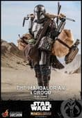 Hot Toys TMS052 The Mandalorian and Grogu 1/6th Scale Deluxe Collectable Figure Set